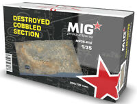 Destroyed Adoquinadas Section Diorama 1 :3 5 Plástico Modelo Kit Mig