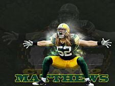 "080 William Clay Matthews III - American Football Linebacker NFL 19""x14"" Poster"