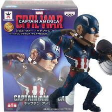 Banpresto Marvel Civil War Captain America WCF Premium Captain America Figure