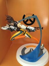 """10""""Shooting Game Overwatch Tracer PVC Complete Figure Statue 3D Model IN BOX"""