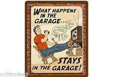 Funny Beer Garage Refrigerator / Tool Box  Magnet  Man Cave Humor