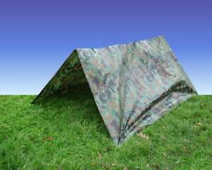 18'x12' ARMY CAMOUFLAGE TARPAULIN GREEN CAMO TARP WATERPROOF COVER  5.4M x 3.5M