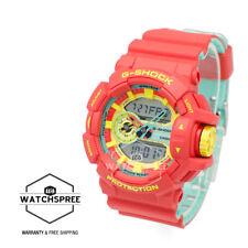Casio G-Shock Breezy Rasta Color Watch GA400CM-4A AU FAST & FREE