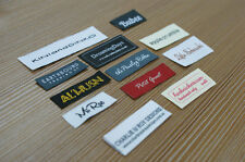 300 Custom Woven Labels 300pcs lot clothing tag (letters only) Ship from USA