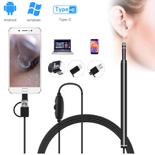 Ear Medical Cleaning Endoscope Spoon Mini Camera Picker Wax Removal android & Pc