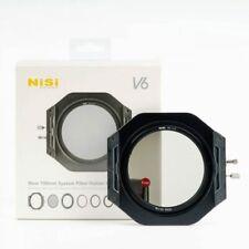 NiSi Filterhalter Kit für 100mm V6 mit Pol Filter, Adapterringe und Tasche