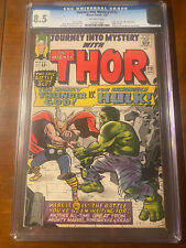 JOURNEY INTO MYSTERY #112 1/65 CGC 8.5 OW EARLY HULK XOVER HIGH GRADE GEM!