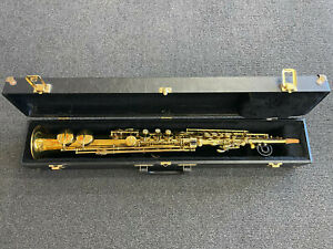 Martin Low Pitch Handcraft Soprano Saxophone And Case