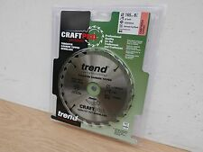 TREND 165MM 24T 30MM BORE TCT SAW BLADE CSB/16524