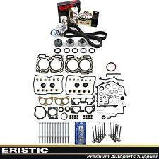 MLS Full Gasket Bolts Valve KIT Timing Belt Kit 99-03 Subaru 2.5 SOHC EJ25