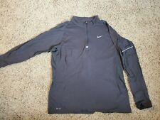 Nike Dri-Fit quarter zip large gray