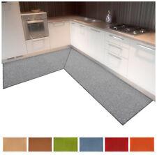 Tappeto cucina angolare su misura tinta unita bagno camera letto mod.ALEXA B