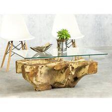 Couchtisch Baumwurzel 90x65cm Design Unikat Wurzel Tisch Altholz Modern Elegant
