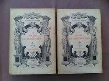 DUMAS Alexandre - LELOIR Maurice - La dame de Monsoreau. - 1903 - 2 volumes