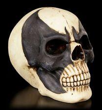 CALAVERA CON fledermausmaske - Batskull - Negro Metal Eje De Balancín Figura