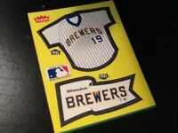 Milwuakee Brewers lot of 507 baseball cards, 1981-2015, Topps, Fleer, Score