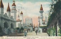 BROOKLYN NY – Coney Island Luna Park Main Court – udb – 1906