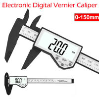 New Caliper 0-150mm Electronic Waterproof Vernier LCD Micrometer Measure Plastic