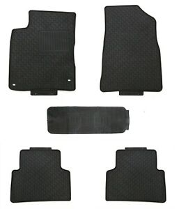 Floor Mats for Cadillac Escalade 2015+ Custom Fit Rubber All Weather