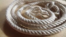 """5/32"""" x 300 ft. Twisted 4 Strand Cotton Rope.Natural."""