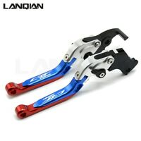 2x For Honda CRF1000L Africa twin 2015 2016 2017-2018 Folding Brake Clutch Lever
