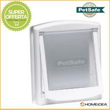Gattaiola Porta Basculante Staywell Petsafe mod 740 bianca, per cani sino a 18kg