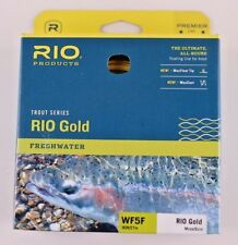 Rio Gold Fly Line WF5F Moss Gold Free Fast Shipping 6-21229