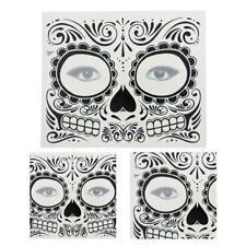 Day Of The Dead Dia de los Muertos Face Mask SUGAR SKULL TATTOO Cosplay Fancy