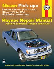 Repair Manual Haynes 72031 fits 98-04 Nissan Frontier