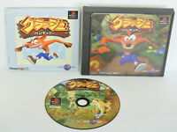 CRASH BANDICOOT 1 ref/ccc Playstation PS 1 Japan Game p1