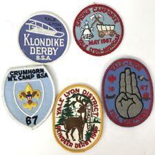 Boy Scout Patches Yale Lyon 1966 1967 BSA Lot Of 5