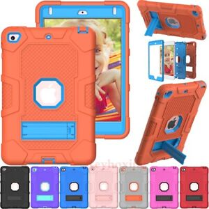 For iPad 8th 7th 6th 5th Generation Mini 4 5 Shockproof Rugged Stand Case Cover