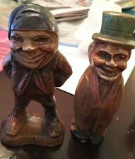 2 Vintage SYROCO Figurines - the Burgher and the Peasant VG