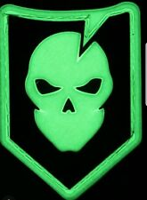 ITS Tactical Mini PVC Logo Patch Glows In The Dark Great On Hat Or Gear Bag