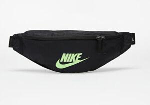 Nike Black Hip Pack Waistpack Bum Bag Hip Pack Travel Belt Crossbody Bag - BNWT