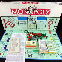 French Monopoly Board Game Vintage 1985 Classic Original Version Francaise