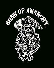 Sons of Anarchy Luxury Plush Throw Raschel Blanket--Reaper