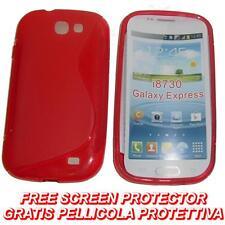 Pellicola + Custodia cover case WAVE ROSSA per Samsung Galaxy Express I8730 (B8)