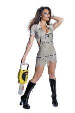 Halloween Fancy Dress Costume ~ Texas Chainsaw Miss Leatherface Xs 6-8