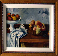 Fazly Untitled Fruits framed Original Oil Painting Hand Signed Contemporary Russ