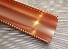 1,00 m Kupfer Dachrinne halbrund, NW 20 - NW 40
