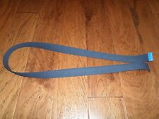 U.S MILITARY BLUE AIR FORCE WEB BELT CHROME TIP FOR USE WITH A CHROME BUCKLE