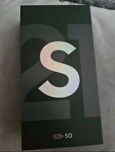 Samsung Galaxy S21+ 5G SM-G996B/DS - 256GB - Phantom Silver (Unlocked)