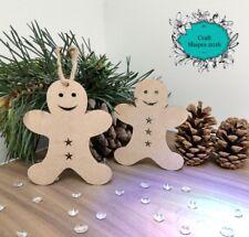 Christmas Gingerbread Men, Gingerbread man, Christmas Decorations. X 10