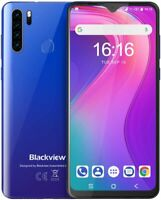 6.49'' Blackview A80 Pro 4G+64GB Smartphone 4G Dual SIM Octa Core 4680mAh Blue