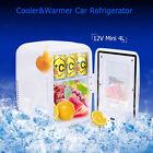 4L Mini Car Fridge 12V Freezer Cooler Warmer Electric Travel Food Box Camping