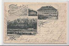 56011- Gruß aus Volders bei Hall Tirol Bezirk Innsbruck Land Gasthof zur Post