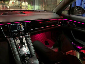 Illuminated Retrofit LED Ambient Atmosphere light For Porsche Cayenne 958 11-18