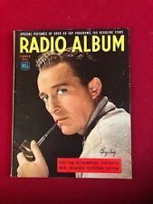 """1948, Bing Crosby, """"Radio Album"""" Magazine (No Label) Scarce / Vintage"""