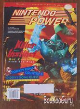 Nintendo Power Magazine, Vol.76, Sep,1995, Killer Instinct,Batman Forever Poster